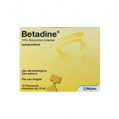Betadine 10 flaconcini da 10ml