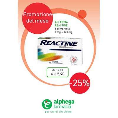 Reactine 6cpr
