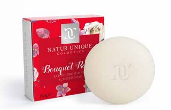 NATUR UNIQUE SAPONETTA BOUQUET ROUGE 150G