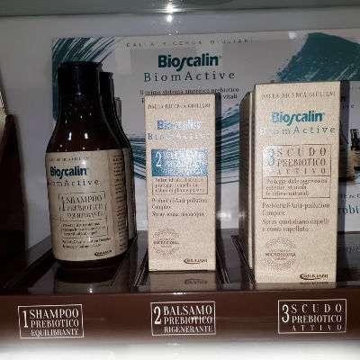 Nuova linea capelli ai PREBIOTICI Bioscalin
