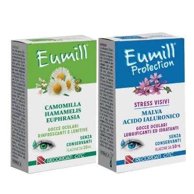 Eumill e Eumill protection gocce oculari 10ml