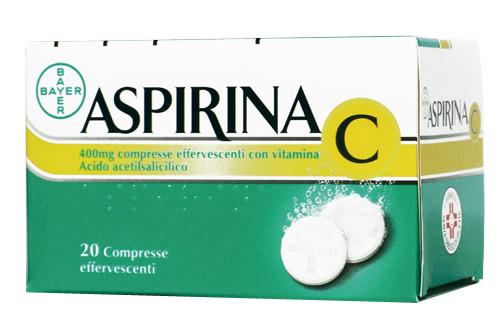 ASPIRINA C*20CPR EFF 400+240MG