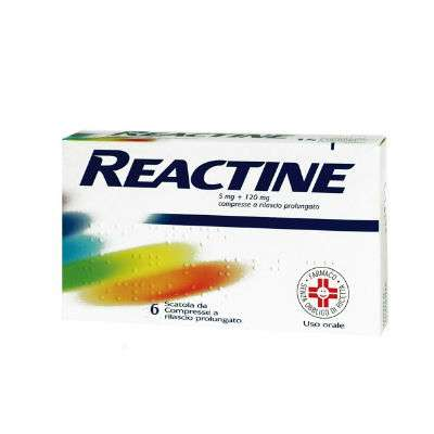 Reactine 6 cpr