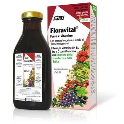 Floradix ferro e vitamine 250ml