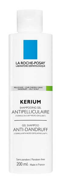 LA ROCHE-POSAY KERIUM SHAMPOO ANTIFORFORA CAPELLI GRASSI 200ML