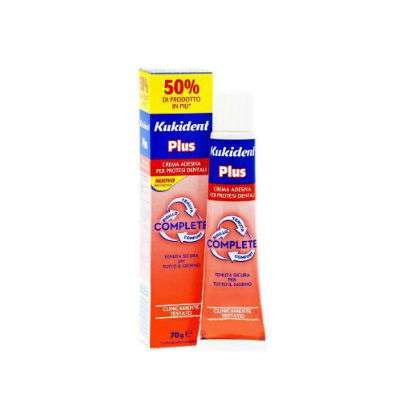 *Kukident plus complete 70g