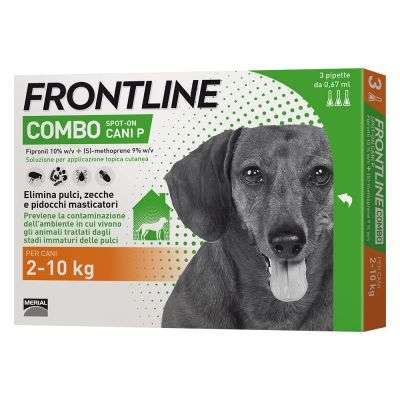 FRONTILINE COMBO CANI 2-10 KG