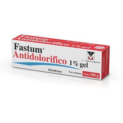 FASTUM ANTIDOLORIFICO*1% 100G