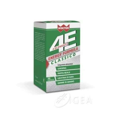 ENERGY FORMULA CLASSICO 4ELEMENTI 30 CAPSULE WINTER