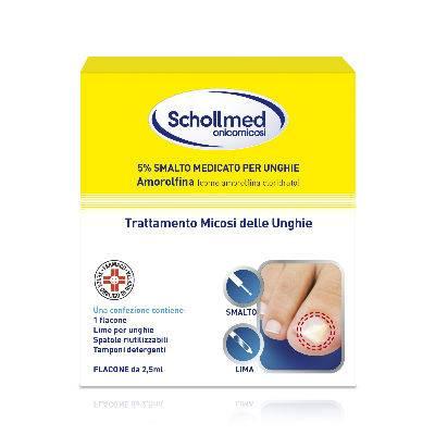 Schollmed onicomicosi trattamento micosi delle unghie