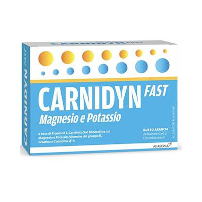 Carnidyn Fast magnesio potassio 20bst
