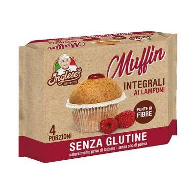 Inglese Muffin Integrali Farciti al Lampone