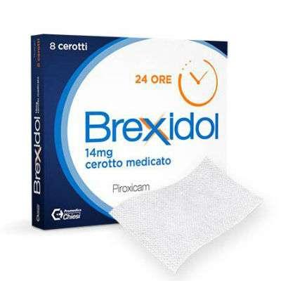 Brexidol 8 cerotti medicati