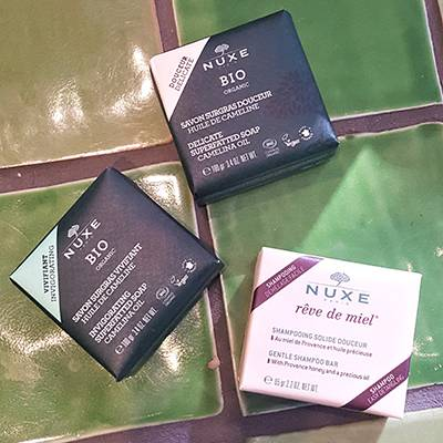 Nuxe Bio Organic sapone rinvigorente