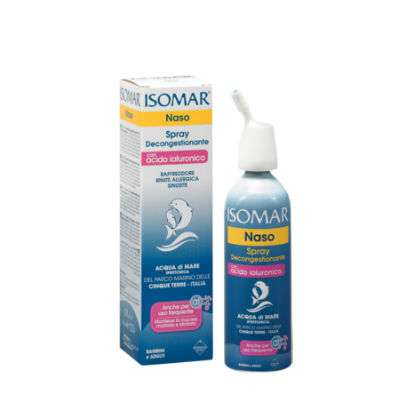 Isomar Spray Decongestionante con acido ialuronico
