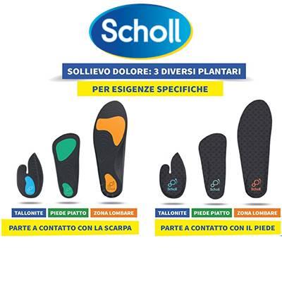 SCHOLL PLANTARI SOLLIEVO/DOLORE