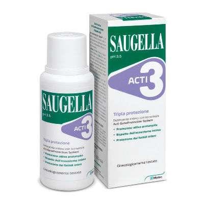 Saugella Acti3 deterg. int. 250ml