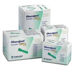 GLUCOJECT LANCETS PLUS G33 25P