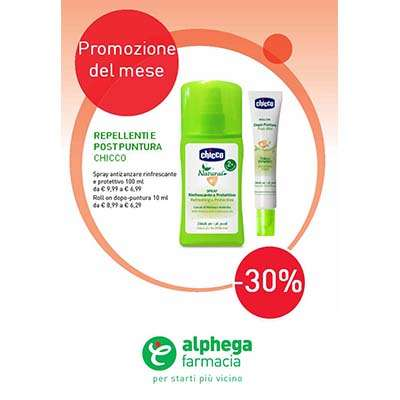 Chicco Repellente e Postpuntura