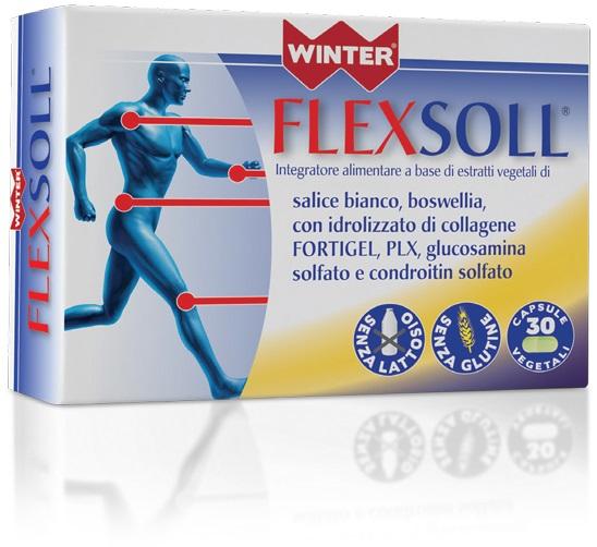 FLEXSOLL INTEGRATORE ARTICOLAZIONI 30 CAPSULE VEGETALI WINTER
