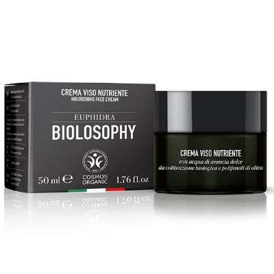 Euphidra Biolosophy crema viso nutriente 50ml