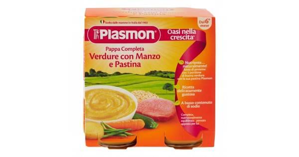 PLASMON OMOG PAPPE MAN/VER/PAS