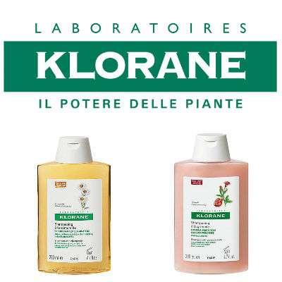 Klorane Shampoo - linea