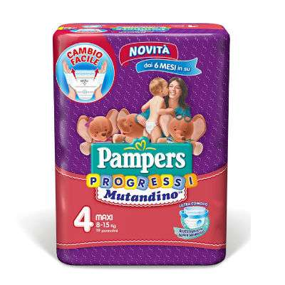 NUOVA LINEA PAMPERS PROGRESSI