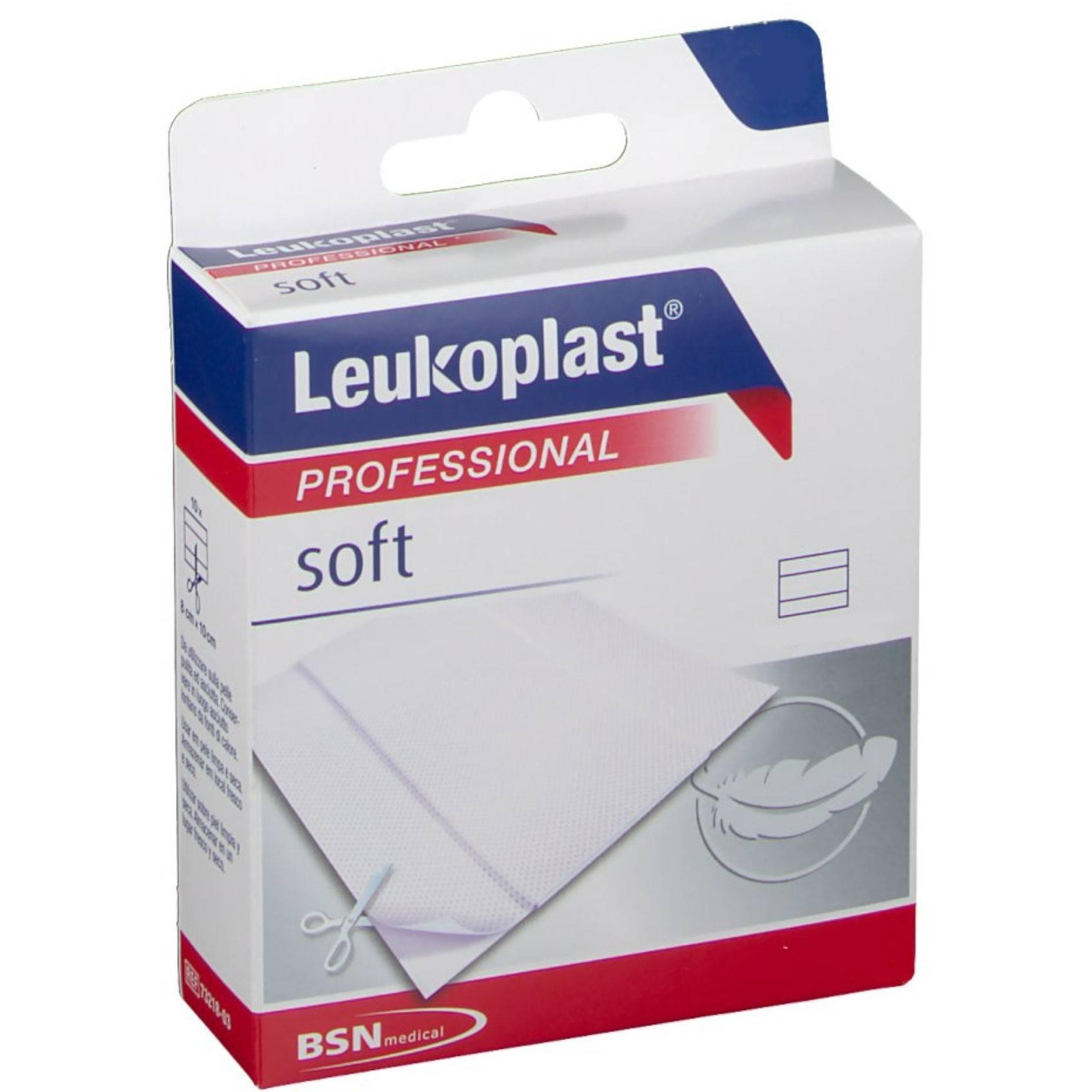 LEUKOPLAST SOFT WHITE 100X6CM