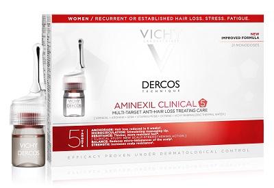VICHY DERCOS AMINEXIL FIALE ANTICADUTA DONNA 21 FLACONI
