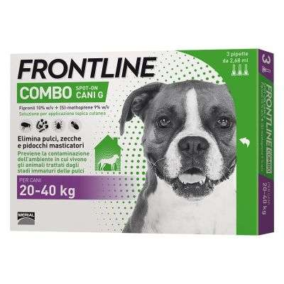 FRONTLINE COMBO CANI 20-40 KG
