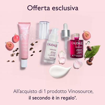 CAUDALIE VINOSOURCE PROMO 1+1