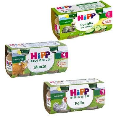 Hipp omogeneizzati carne