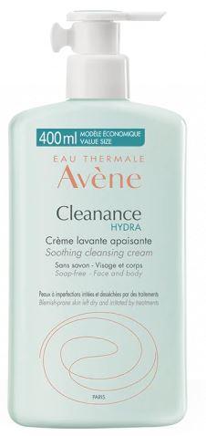 AVENE CLEANANCE HYDRA CREMA DETERGENTE VISO 400ML