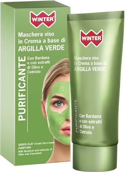 WINTER MASCHERA A BASE DI ARGILLA VERDE PURIFICANTE 50ML