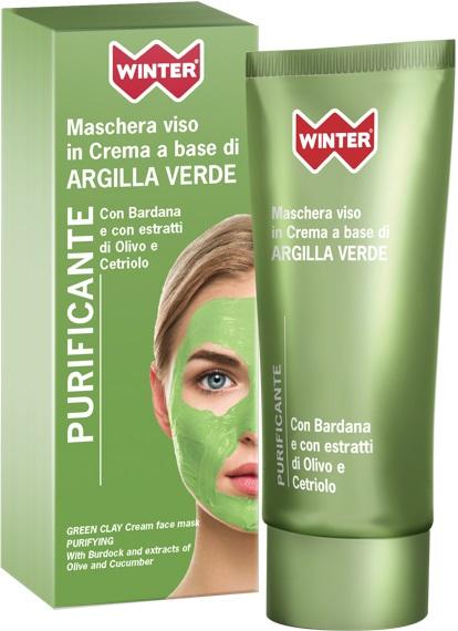 WINTER MASCHERA A BASE DI ARGILLA VERDE PURIFICANTE 50ML