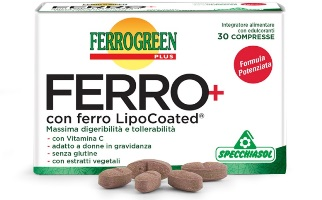 FERROGREEN PLUS FERRO+ 30 COMPRESSE SPECCHIASOL