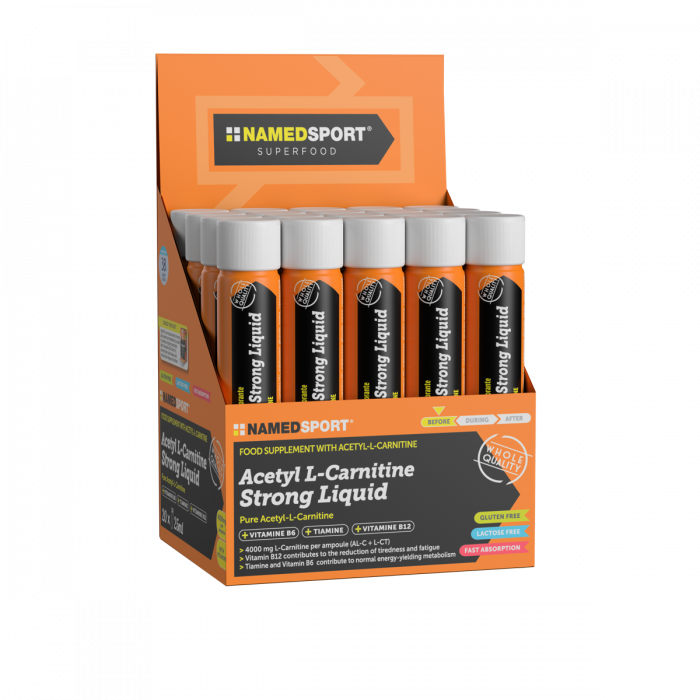 NAMED SPORT ACETYL LCARNITINE STRONG LIQ.