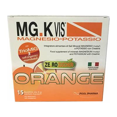 Mg kvis magnesio e potassio senza zucchero 15 buste