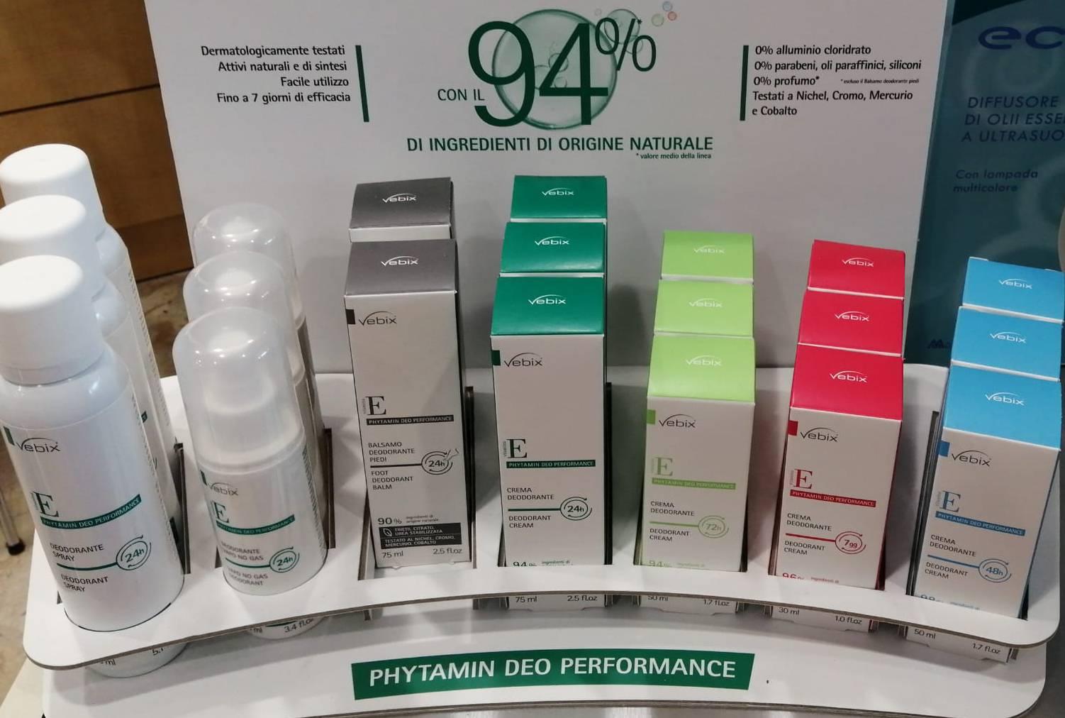 Vebix  linea deodoranti