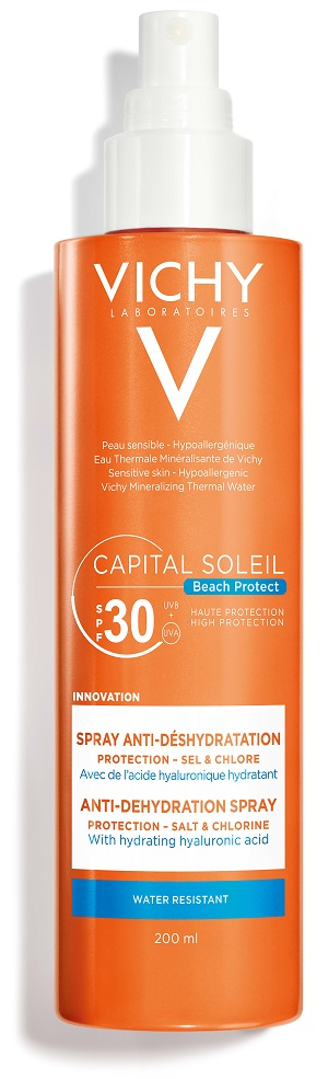 VICHY CAPITAL SOLEIL BEACH PROTECT SPRAY SPF30 200ML