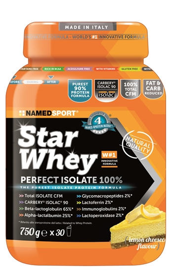 STAR WHEY ISOLATE LEMON CHEESE