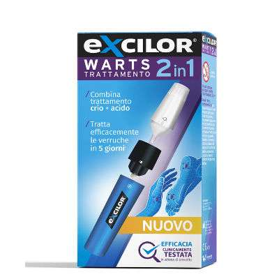 *Excilor warts trattamento 2in1