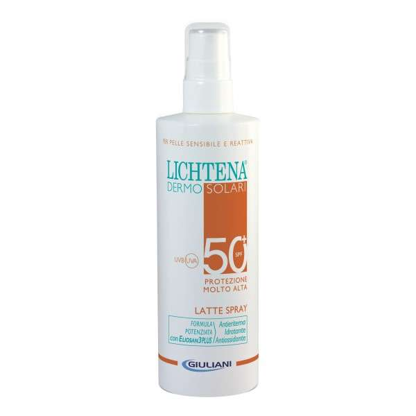 LICHTENA DERMOSOL BAMBINI LATTE SPRAY SPF50+ 200ML