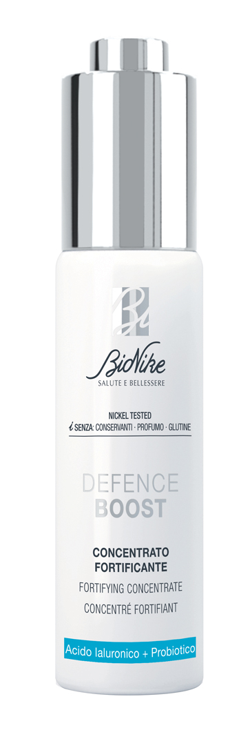 BIONIKE DEFENCE BOOST CONCENTRATO RINNOVATORE ACIDO IALURONICO 30ML
