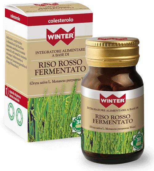 RISO ROSSO FERMENTATO INTEGRATORE COLESTEROLO 30 CAPSULE WINTER