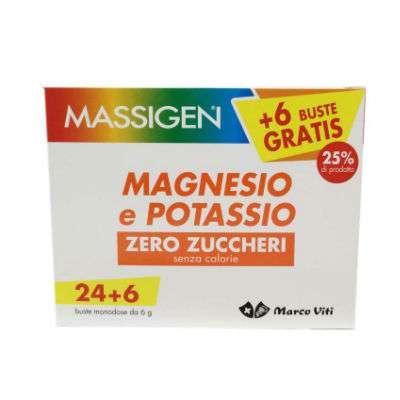 Massigen magnesio e potassio 24+6bst omaggio
