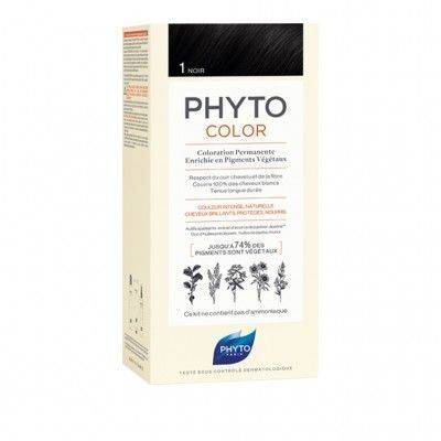 PHYTO PHYTOCOLOR COLORAZIONE PERMANENTE 1 NERO