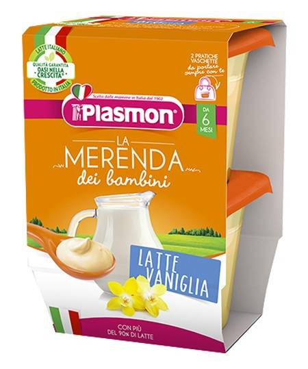 PLASMON LATTE VAN AS 2X120G