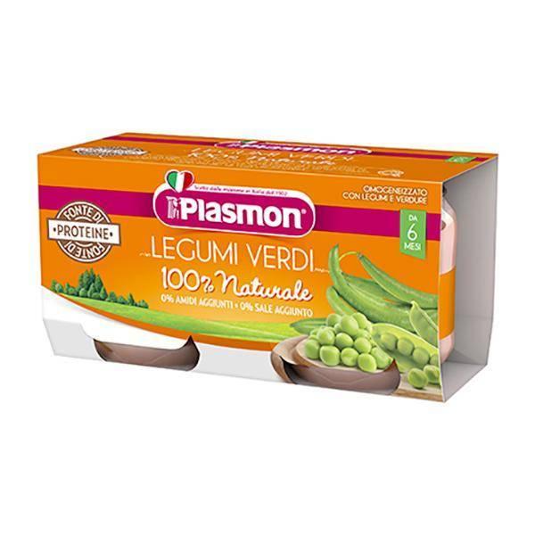 Plasmon omogeneizzati legumi 2X80g
